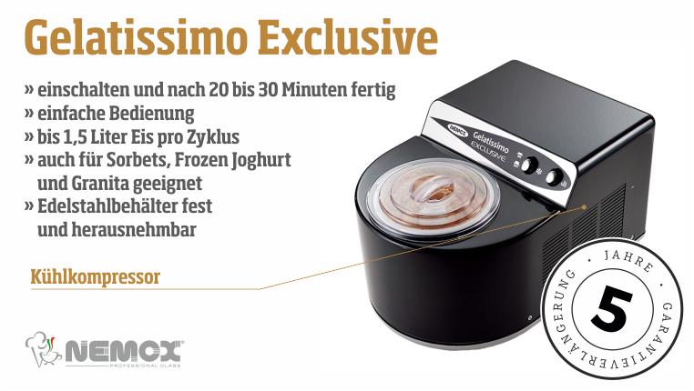 Biebrach & Dörr NEMOX Eismaschinen! LUICELLA'S ICE CREAM! - Biebrach & Dörr